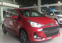 Bán ô tô Hyundai i10 đời 2018, màu đỏ, hỗ trợ mua trả góp 80% xe, LH Ngọc Sơn 0911.377.773