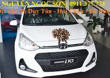 Bán Hyundai i10 mới 2017, màu trắng,hỗ trợ mua trả góp,giao xe ngay,LH Ngọc Sơn: 0911.377.773