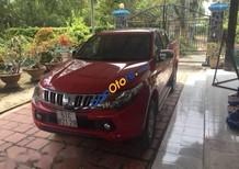 Cần bán lại xe Mitsubishi Triton sản xuất 2015, màu đỏ, nhập khẩu