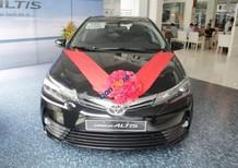 Cần bán xe Toyota Corolla altis 2.0V AT năm sản xuất 2017, màu đen, giá tốt