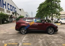 Bán ô tô Hyundai Santa Fe năm 2017, màu đỏ