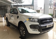 Bán Ford Ranger Wildtrak 3.2L 4x4 AT năm 2017, màu trắng, xe nhập