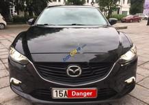 Xe cũ Mazda 6 2.0 AT sản xuất năm 2015, màu đen như mới