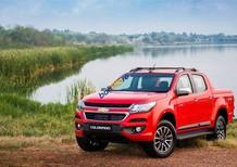 Bán Chevrolet Colorado High Country 2.8 AT 4x4 năm sản xuất 2017, màu đỏ, xe nhập
