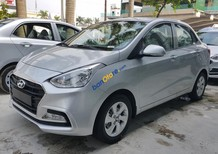 Cần bán Hyundai Grand i10 sản xuất năm 2017, màu bạc