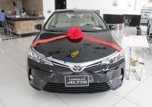 Bán xe Toyota Corolla altis 1.8G AT năm 2017, màu đen, 742tr