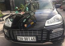 Gia đình bán xe Porsche Cayenne S sản xuất năm 2008, màu đen, nhập khẩu