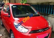 Cần bán xe Hyundai i10 sản xuất năm 2011, màu đỏ như mới