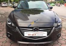Bán Mazda 3 1.5AT năm 2016, màu nâu số tự động, 645 triệu