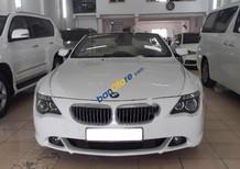 Cần bán gấp BMW 6 Series 650i năm sản xuất 2008, màu trắng, nhập khẩu