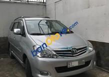 Cần bán gấp Toyota Innova G sản xuất 2010, màu bạc chính chủ, giá 436tr