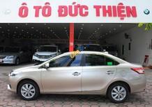 Bán Toyota Vios 1.5G năm sản xuất 2016, màu vàng