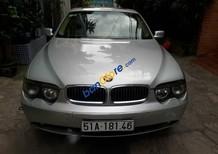 Xe BMW 7 Series 745i sản xuất năm 2005, màu bạc như mới