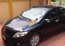 Bán Toyota Corolla Altis đời 2009, màu đen, giá tốt
