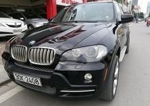 Cần bán gấp BMW X5 4.8 2007, màu đen, nhập khẩu chính hãng