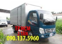 TP. HCM Thaco Ollin 700B phiên bản mới thùng kín tôn đen, màu xám, giá tốt