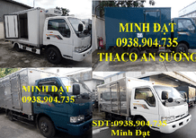 Xe tải Thaco Kia k165 2 tấn 4 trả góp tp. Hcm, xe tải kia 2t4 Long An vay 85% giá trị xe
