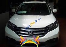 Bán xe Honda CR V 2.4L năm sản xuất 2014, màu trắng