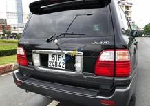 Cần bán lại xe Lexus LX 470 đời 2004, màu đen, nhập khẩu nguyên chiếc số tự động