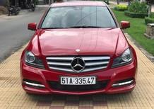 Bán ô tô Mercedes C200 năm 2011, màu đỏ, nhập khẩu nguyên chiếc, 745 triệu