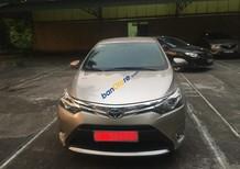 Bán Toyota Vios G sản xuất 2015, màu vàng chính chủ