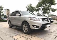 Bán Hyundai Santa Fe 2.0 EVGT đời 2010, màu bạc, nhập khẩu chính hãng, số tự động