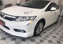 Cần bán Honda Civic 2.0 AT đời 2012, màu trắng, xe đẹp