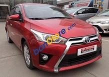 Bán Toyota Yaris 2.0 AT năm 2015, màu đỏ, xe được bảo hành chính hãng