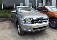 Cần bán xe Ford Ranger 2.2L XLS AT 4x2 năm 2017, màu bạc, nhập khẩu nguyên chiếc