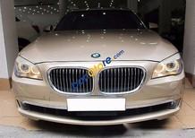 Bán ô tô BMW 7 Series 750Li sản xuất năm 2009, màu vàng, nhập khẩu, xe đẹp