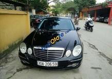 Cần bán xe Mercedes E350 AT sản xuất năm 2007, màu đen