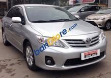 Cần bán gấp Toyota Corolla altis 1.8 AT năm 2012, màu bạc chính chủ, giá 645tr