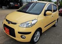 Bán Hyundai i10 1.1 AT năm 2010, màu vàng, xe nhập