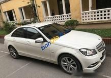 Cần bán gấp Mercedes C200 AT năm sản xuất 2011, màu trắng, 788tr