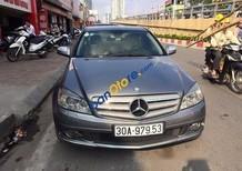 Bán xe cũ Mercedes C230 màu ghi xám, sản xuất 2008, xe gia đình sử dụng đi rất giữ gìn