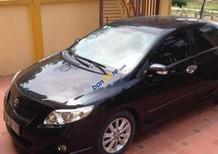 Bán Toyota Corolla Altis 2009, màu đen, xe đẹp