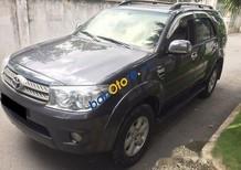 Bán xe Toyota Fortuner đời 2010, màu xám, các chức năng theo xe đầy đủ và ổn định