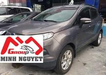 Salon Ô Tô Minh Nguyệt bán xe Ford Ecosport Trend 1.5 MT, đời 2015, màu xám đậm
