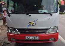 Bán Hyundai County 3.9L đời 2013, màu đỏ trắng, xe chạy 13000 km, xe đẹp 98%