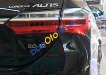 Bán Toyota Corolla altis đời 2017, màu đen