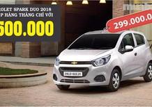 Cần bán xe Chevrolet Spark đời 2017, màu trắng, nhập khẩu nguyên chiếc, giá 299tr