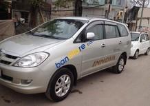 Cần bán xe Toyota Innova đời 2007, màu bạc chính chủ, giá tốt