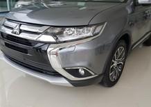 Cần bán xe Mitsubishi Outlander đời 2017, màu xám, nhập khẩu