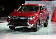 Bán xe Mitsubishi Outlander đời 2016, màu đỏ, xe nhập