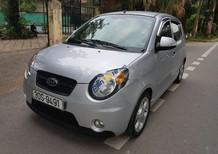 Cần bán Kia Morning 2008, màu bạc, phí đăng kiểm đến giữa năm 2018