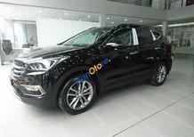 Bán Hyundai Santa Fe sản xuất 2017, màu đen