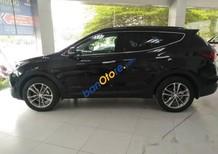 Bán Hyundai Santa Fe năm 2017, màu đen