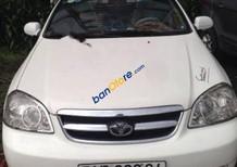 Bán xe Daewoo Lacetti EX sản xuất 2009, màu trắng, xe đẹp
