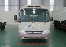 Xe khách Thaco, xe khách 24 chỗ thân dài 7m3, xe 29 chỗ Hyundai County, hỗ trợ vay vốn ngân hàng