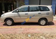 Cần bán Toyota Innova G năm sản xuất 2010, màu vàng cát